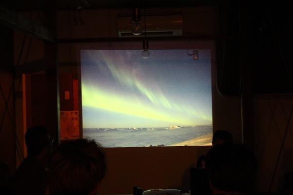 南極ディナー